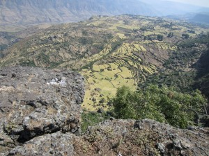 Terraces in Debre Libanos